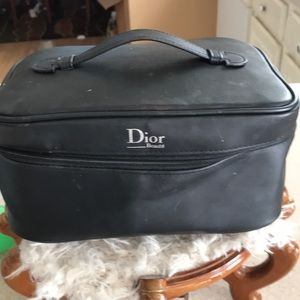 Dior makeup/ travel bag